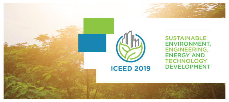The International Conference on Eco Engineering Development 2019 (Conference)