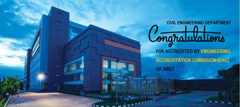Civil Engineering Accreditation by EAC of ABET