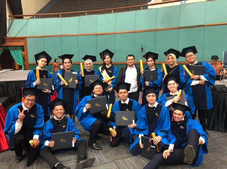 Wisuda ke-61 Universitas Bina Nusantara